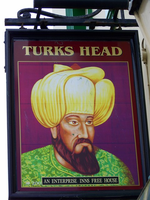 Sign for the Turks Head, Scarborough