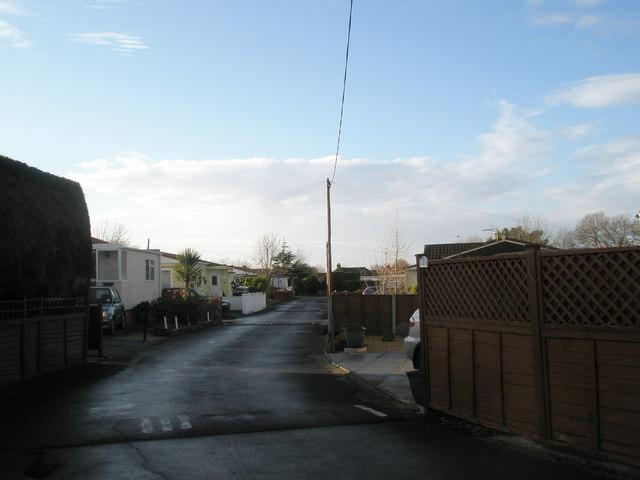 Mobile Home Park at Nutbourne
