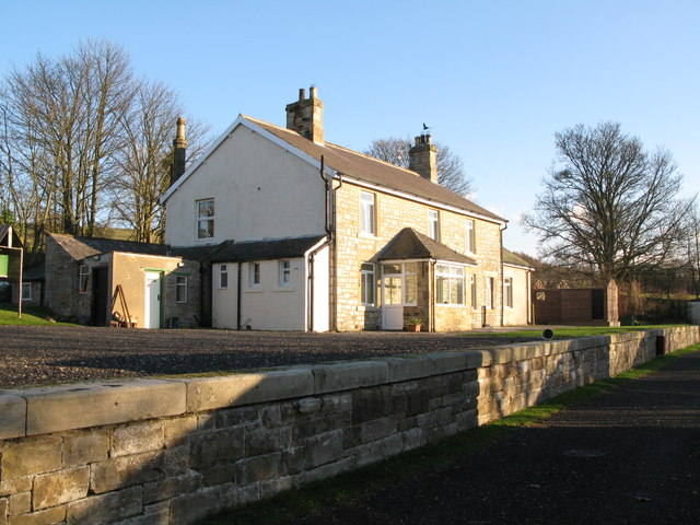 (The former) Allendale railway station