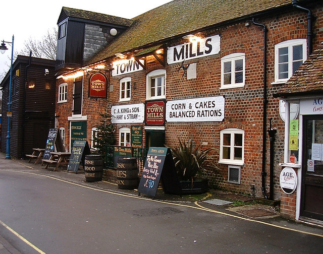 Andover - The Town Mills