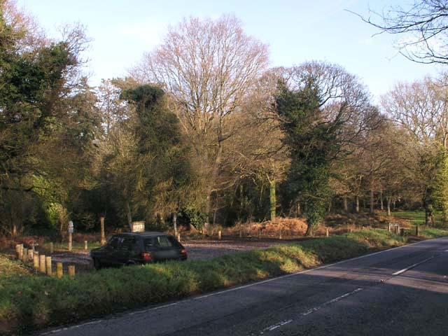 Mill Road car park on Holmwood Common