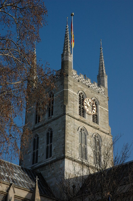 Tower of Southwark Cathedral