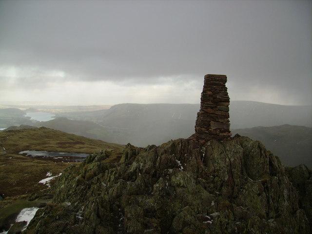 Trig Pillar, Place Fell
