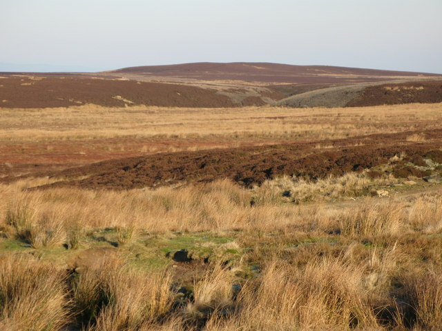 Towards the Foumart Hills and Great Lawsley