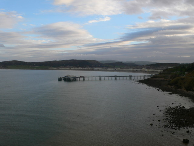 Llandudno Pier from Marine Drive