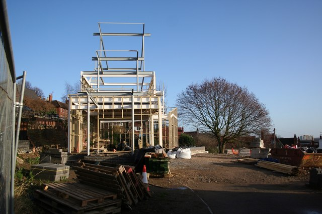 New building on Michaelgate