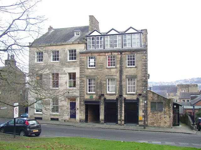Former stained glass works, Castle Hill, Lancaster