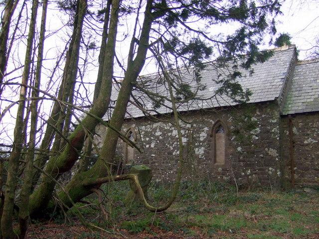 Morfil/Morvil church, south elevation