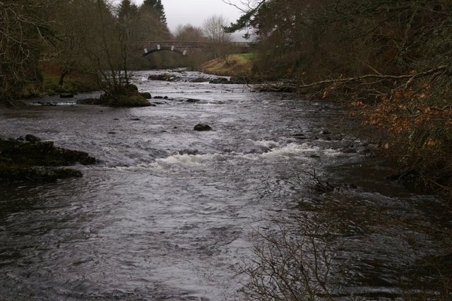 River Isla at Craigisla