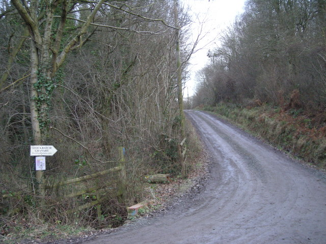 Track to Stockbatch Granary.