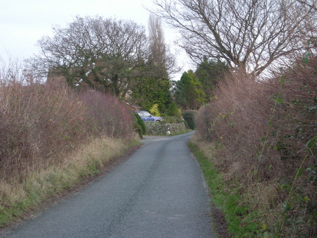 Lane to Frodesley.