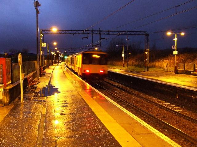 Yoker railway station