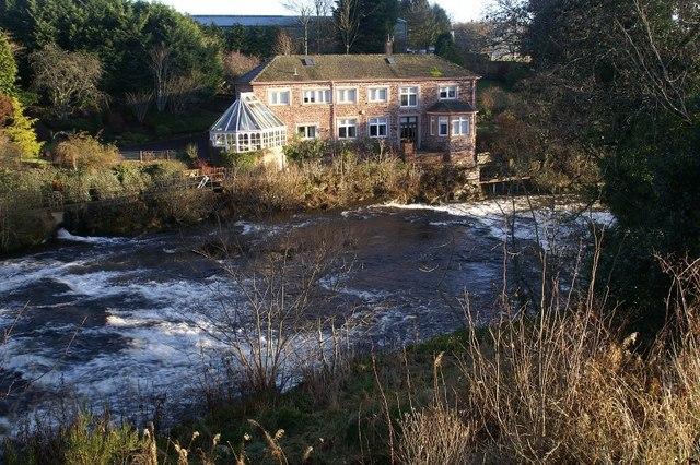 Refurbished mill at Ruthven