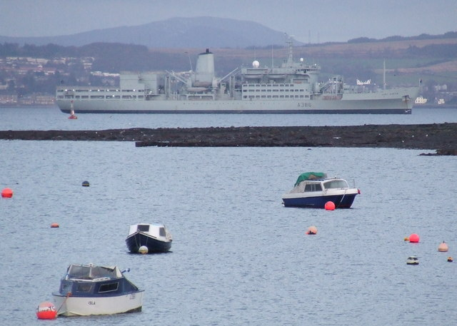 Boats off Gourock