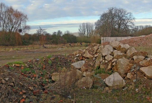 Derelict industrial site