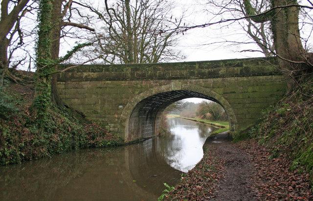 Double Bridge Over Lancaster Canal