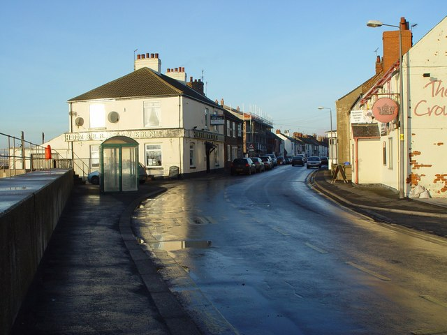 Main Street, Paull Village