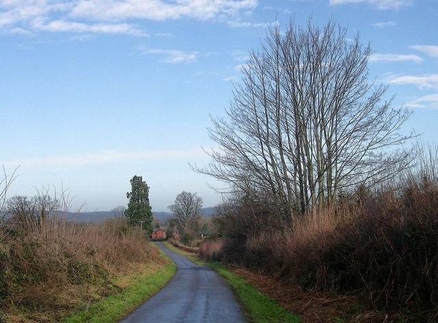 Lane to Ledgemoor