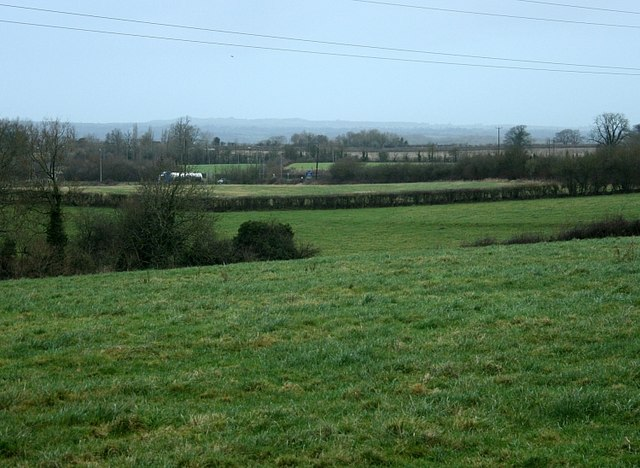 2008 : Somerset farmland near Beckington