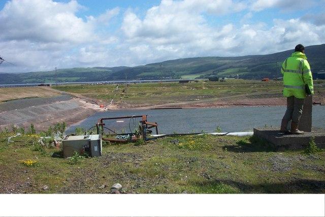 Hunterston Construction Yard Basin