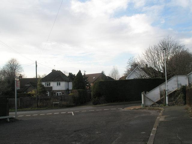 Bosham Station forecourt