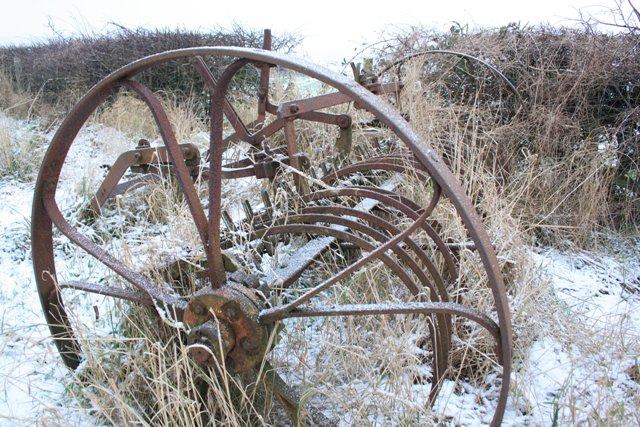 Old Hay Rake, Airyholme Farm
