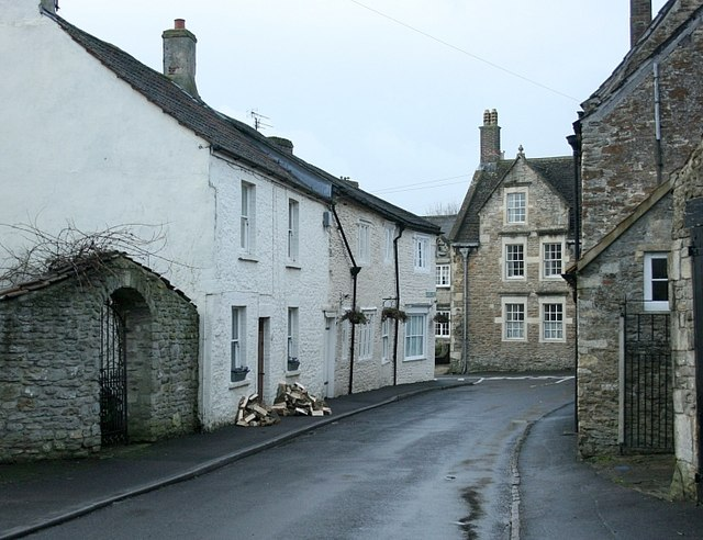 2008 : End of Goose Street, Beckington