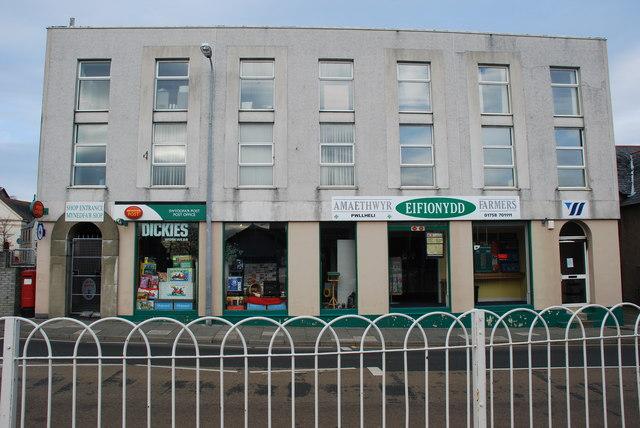 Amaethwyr Eifionydd a Swyddfa'r Post Pwllheli Eifionydd Farmers and Post Office