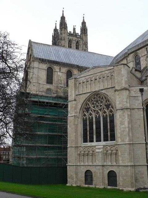 Canterbury: the cathedral – work in progress