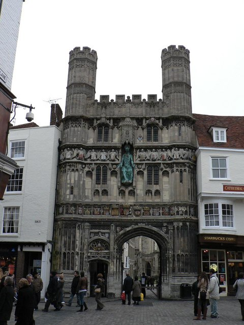 Canterbury: Cathedral Gate