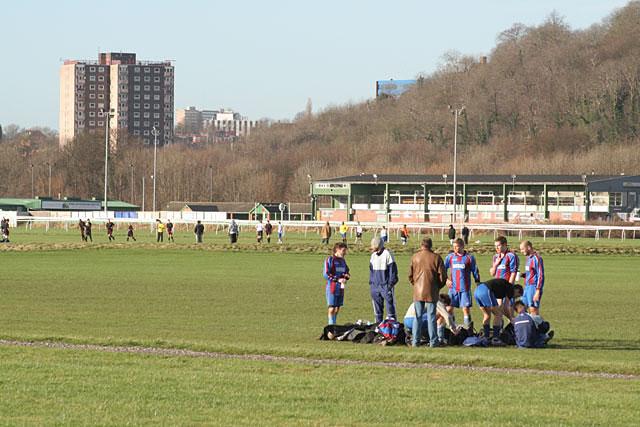 Football on the racecourse