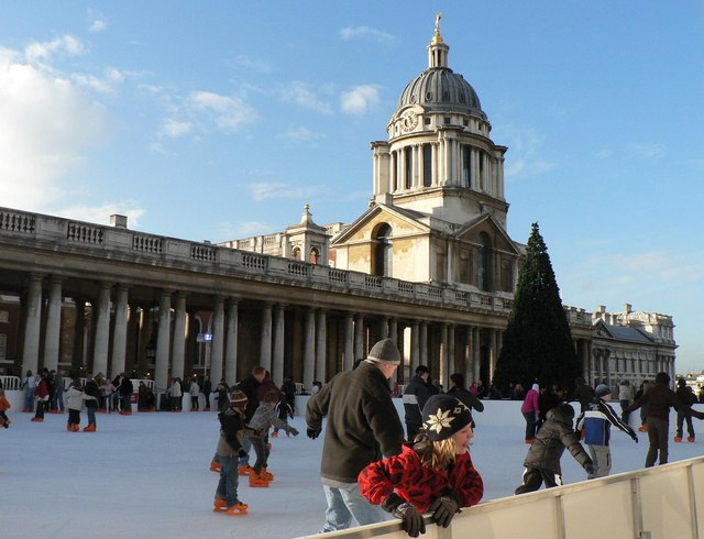 Greenwich: outdoor ice rink