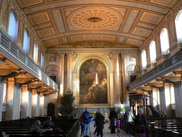 Greenwich: Old Naval College chapel