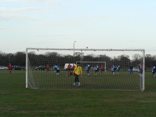 Blackheath: football match