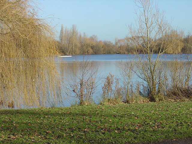 The west lake at Colwick Country Park