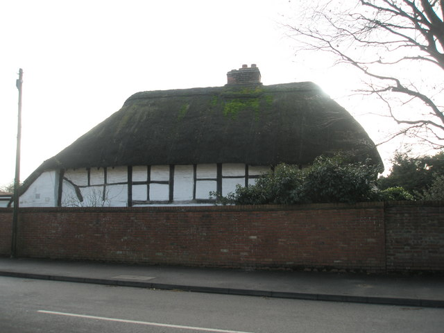 Thatched cottage in Williams Road