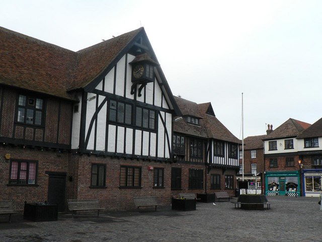 Sandwich: Cattle Market and Guildhall