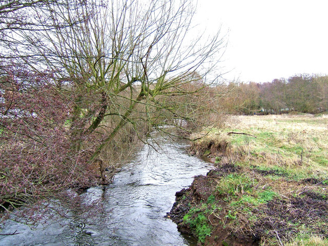 River Stour looking towards Wilden