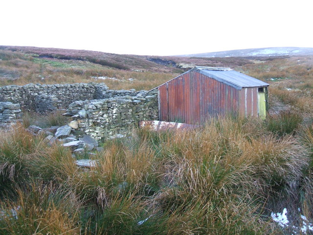 Sheepfold above Swaledale