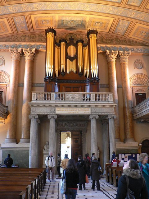 Greenwich: Old Naval College chapel – organ