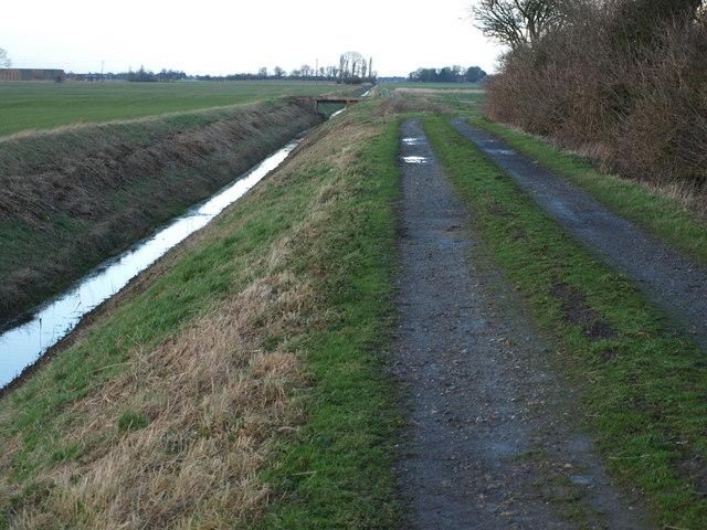 Farm Track And Dyke