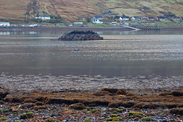 The mouth of Loch Sligachan