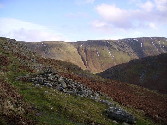 Descending Hallin Fell