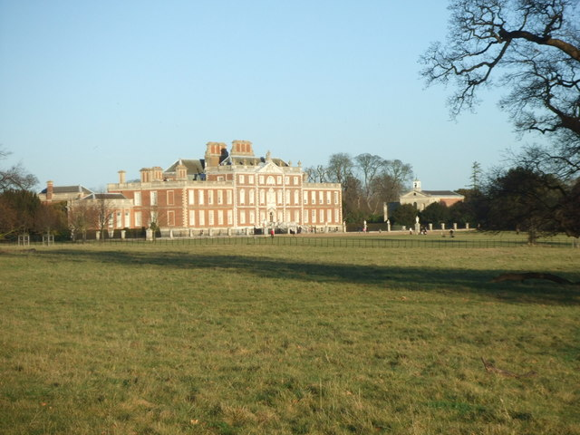 Wimpole Hall from the South West