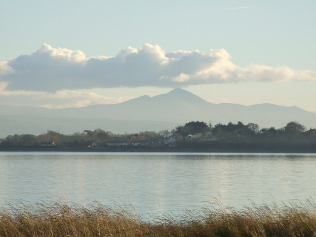 Bowness on Solway from Dornock Shore