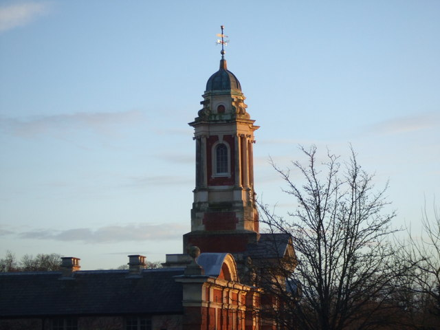 Wimpole Hall stables: the turret