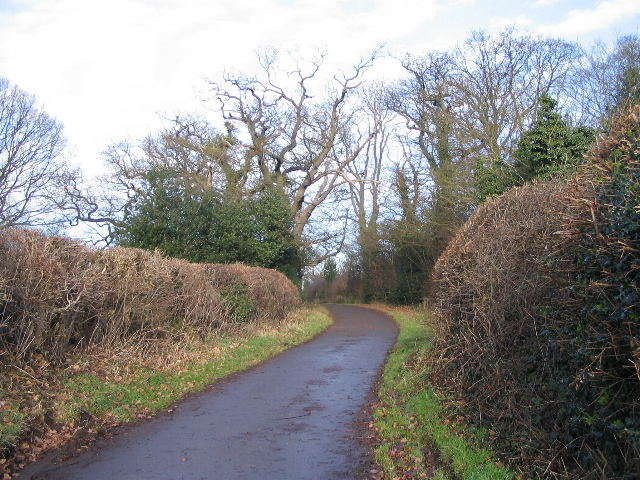 Staircase Lane by Church Farm