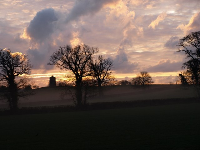 Sunrise over Broadclyst Mill