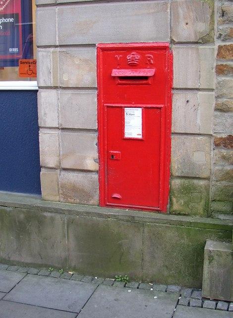 Victorian postbox, Church Street, Lancaster