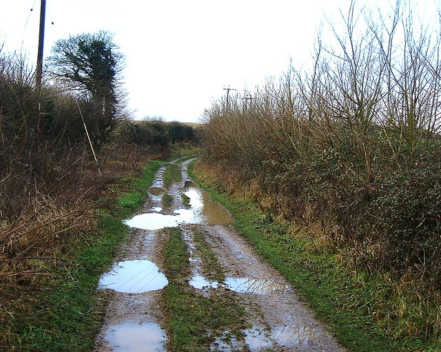 Barton Stacey -  A Muddy Track